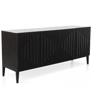 Marty Sideboard | Black Veneer