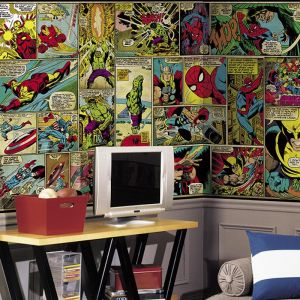 Marvel Classics Comic | Wallpaper Mural