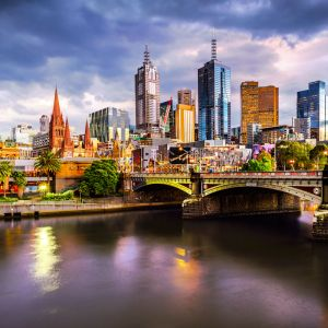 Marvellous Melbourne City View | Limited Edition Photographic Print or Canvas