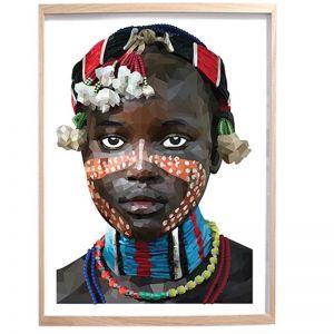 MASAI Unframed Print by Brent Rosenberg