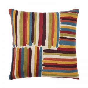 Masala Embroidered Cushion | by Weave Home