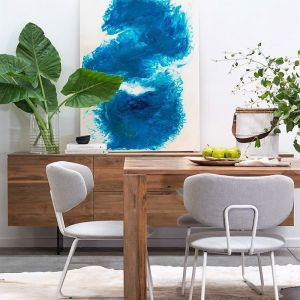 Mason Dining Chair | White Leg Frame by SATARA