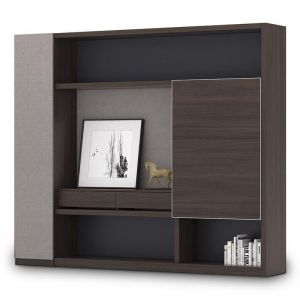 Mason Display Cabinet | Coffee + Charcoal | Modern Furniture