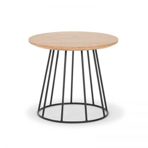 Mason Oak Side Table | Smoked Oak by SATARA