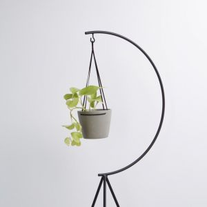 Match Stick Hanging Pot | Grey | by Capra Designs