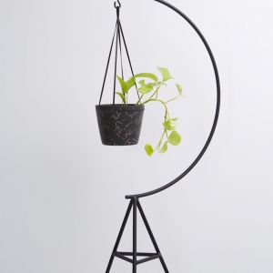 Match Stick Hanging Pot | Midnight
