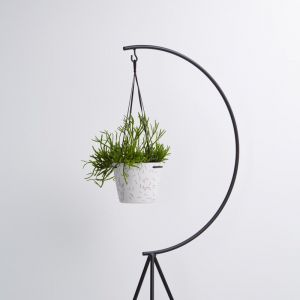 Match Stick Hanging Pot | White | by Capra Designs