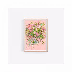 Matilda Gum Leaf | Native Australian | Fine Art Print