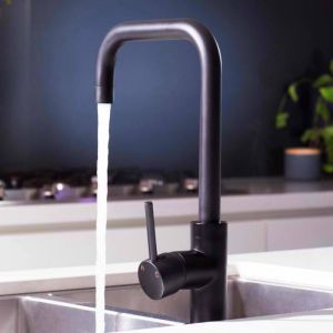 Matte Black Kitchen Mixer Tap