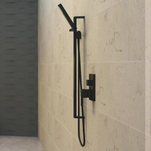 Matte Black Shower Column