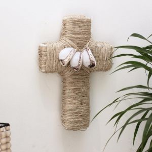 Maui Wall Cross | by Raw Decor