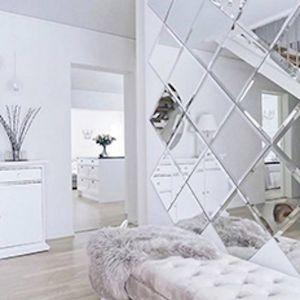 Maurimosaic Mirrored Wall Tiles Beveled Edge