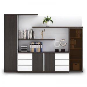 Maverick Display Cabinet | Black + White | Modern Furniture