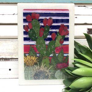 Maxi Woodblock - Cactus Patch