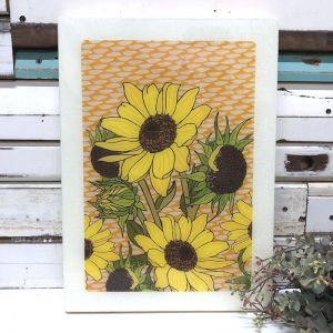 Maxi Woodblock | Sunflower