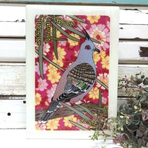 Maxi Woodblock | Top Notch Pigeon