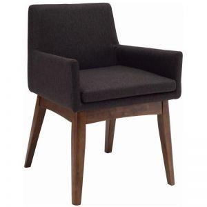Maya Dining Armchair | Cocoa + Mud | Modern Furniture