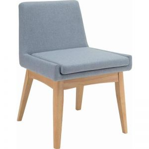 Maya Dining Chair | Oak + Aquamarine | Modern Furniture
