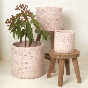Maya Pink Flecked Pot l Pre Order