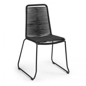 Meagan Alfresco Chair | Black Rope