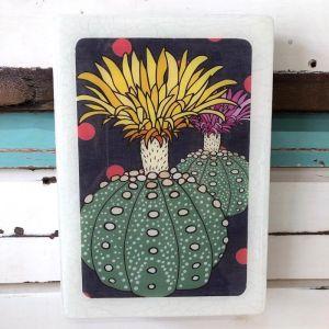 Medi Woodblock | Cactus Pride