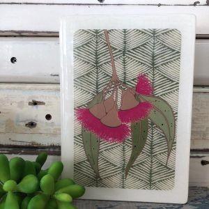 Medi Woodblock | Gum Blossom
