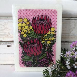 Medi Woodblock | Wildflower Bunch