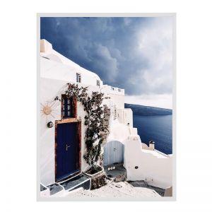 Mediterranean Home | Framed Art Print