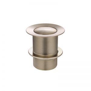 Meir 40mm Pop Up Waste - No Overflow / Unslotted - Champagne