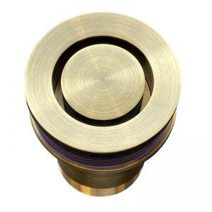 Meir Basin Pop Down® Waste 32mm by Bounty Brassware   Tiger Bronze   MP04-E-BB