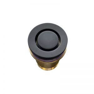 Meir Bath Pop Down® Waste   40mm   by Bounty Brassware   Matte Black