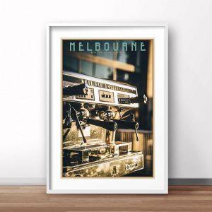 Melbourne | Art Poster | Unframed or Framed