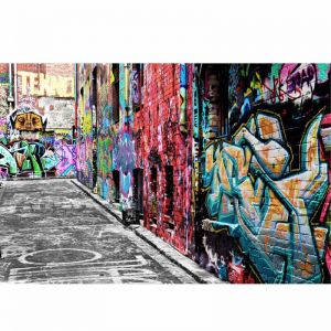 Melbourne CBD Graffiti Streets | Stretched Canvas/Panel