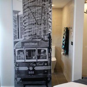 Melbourne City Circle Tram | Door Wrap/Wallpaper