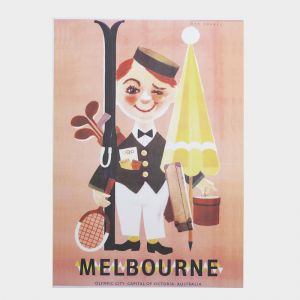 Melbourne Man | Unframed Poster and Print
