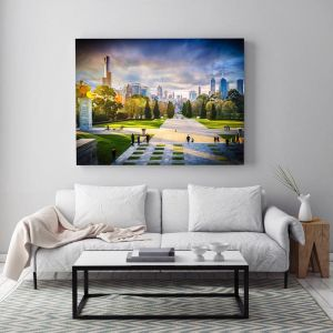 Melbourne Skyline View I Limited Edition I Photographic Prints & Canvas