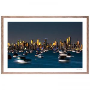 Melbourne Twilight | Prints, Glass, Framed, Metal and Canvas | Various Sizes