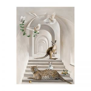 Menagerie | Stretched Canvas Print
