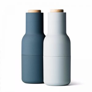 Menu Bottle Grinder | Set of Two | Blue