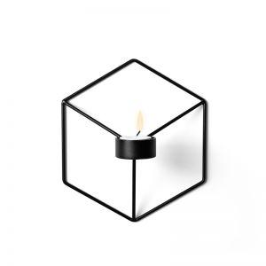 Menu POV Candleholder Wall | Black