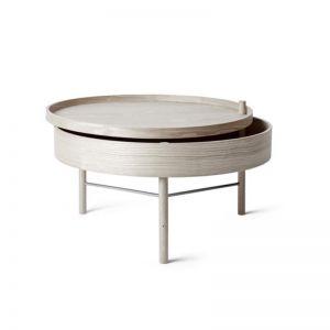 Menu Turning Table | White Oak | CLU Living