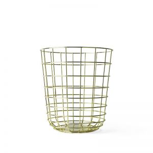 Menu Wire Bin | Brass