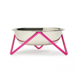 Meow | Pet Bowl | by Bendo | Pink