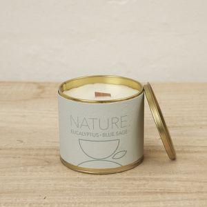 Merek Brass Tin Candle l Nature