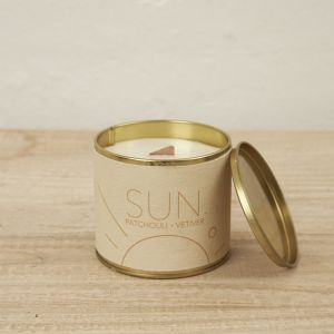 Merek Brass Tin Candle l Sun
