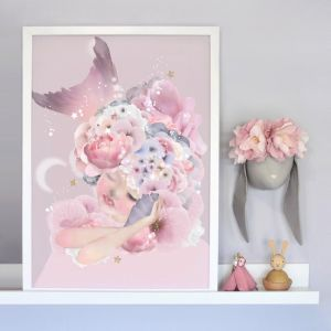 Mermaid Dreaming Artwork | Limited Edition by Schmooks
