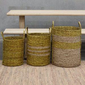 Merricks Storage Baskets | Set of 3 by SATARA