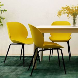 Meryll Curvy Beetle Dining Chair | Set of 2