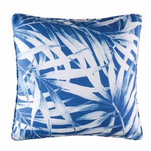 Mesha Outdoor Cushion by Kas Australia | Blue