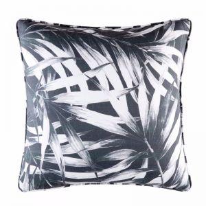 Mesha Outdoor Cushion by Kas Australia | Charcoal